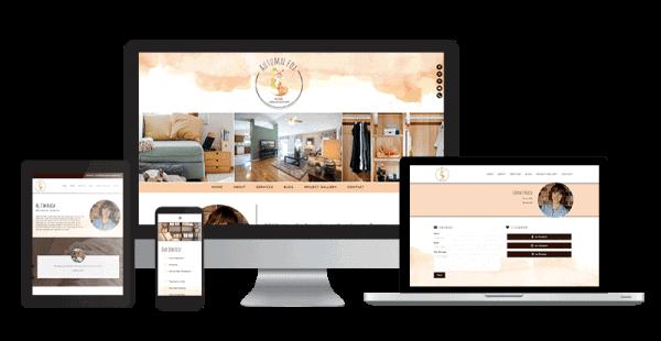 home-organization-website-design