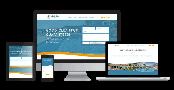 portfolio-pool-service-website-design