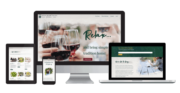 texas-winery-website-and-online-store-design