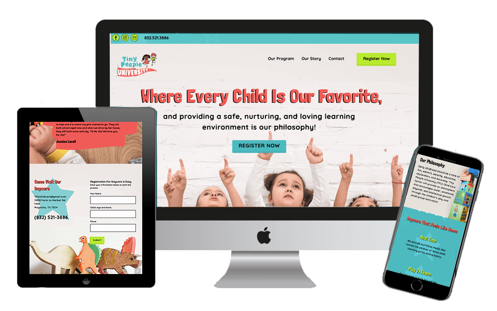 family owned daycare website